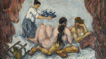 """""""L'Après-Midi à Naples"""" de Paul Cézanne, 1876-1877"""