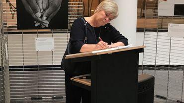 Isabelle Simonis ministre de la Jeunesse et des Droits des femmes de la Fédération Wallonie-Bruxelles