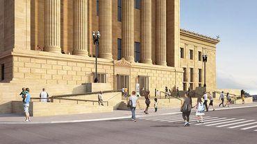 Frank Gehry aux commandes de la transformation du Philadelphia Museum of Art