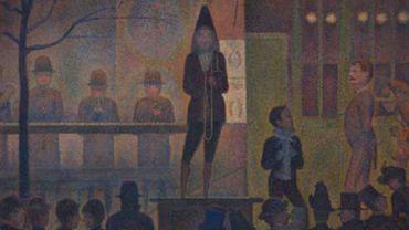 """Georgess Seurat, """"Parade de cirque"""""""