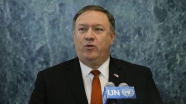 """Mike Pompeo a confirmé que Washington souhaite que tous les pays réduisent leurs importations de pétrole iranien """"au plus près de zéro"""" d'ici le 4 novembre."""