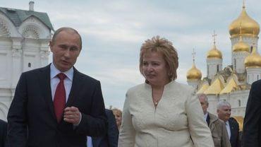 Vladimir Poutine et son épouse Lioudmila