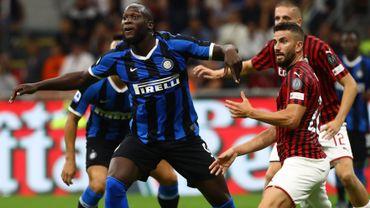 L'Inter empoche le derby face au Milan AC, Lukaku buteur