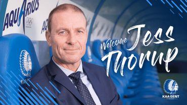 Jess Thorup est le nouvel entraîneur de La Gantoise