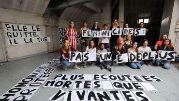 12 féminicide en Belgique en 2020