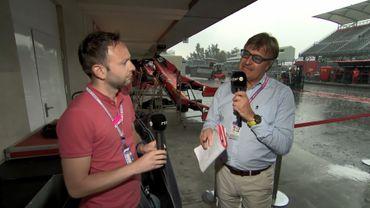 Un orage, un Hamilton rayonnant et un Vettel bon perdant au menu du débriefing mexicain