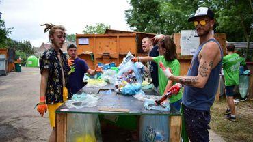 Près de 20 tonnes de déchets triées à deux reprises à Esperanzah!