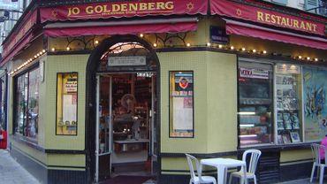 Le restaurant Jo Goldenberg de la rue des Rosiers à Paris