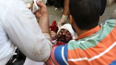 65 personnes au moins ont été tuées et 269 blessées dans les affrontements le matin