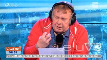 Jean-Luc signe une oeuvre majeure et inédite ce matin!