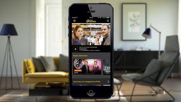 RTBF Auvio a sa propre application pour smartphones et tablettes