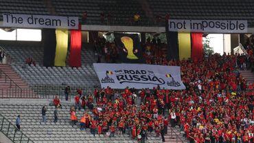 Le Belge dépense en moyenne 25 euros en articles de supporters pour la Coupe du monde 2018.