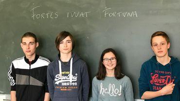 Quatre jeunes parmi les trente meilleurs lors d'un concours mondial de latin
