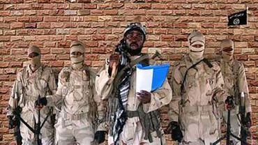 Capture d'écran d'une vidéo montrant des membres du groupe islamiste Boko Haram.