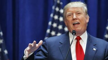 Le candidat aux primaires républicaines Donald Trump, le 16 juin 2015 à New York