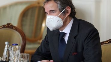 LE directeur général Rafael Grossi de l'AIEA