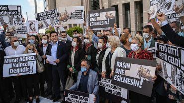 Turquie: la CEDH condamne Ankara pour la détention provisoire de journalistes d'opposition