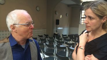 Alain Beerenboom et Geneviève Damas, quand deux Prix Rossel discutent de l'avenir du livre..