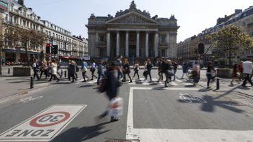 Bourse de Bruxelles.
