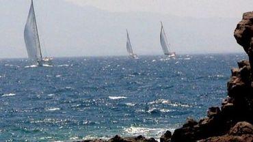 Des bateaux au large de la province turque de Mugla, en 2006
