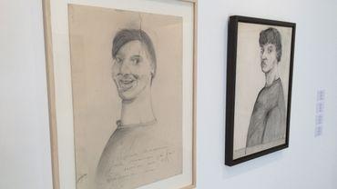 Stéphane Mandelbaum - Autoportrait, 1979