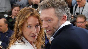 Emmanuelle Bercot et Vincent Cassel à la présentation de Mon roi à Cannes, en mai 2015