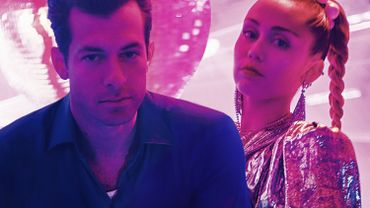 Mark Ronson et Miley Cyrus drivent le Tip Top !