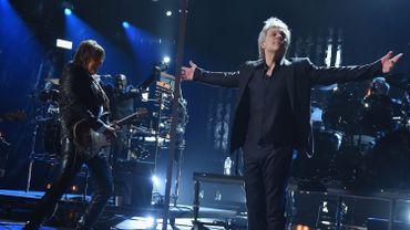 Bon Jovi au 33rd Annual Rock & Roll Hall of Fame
