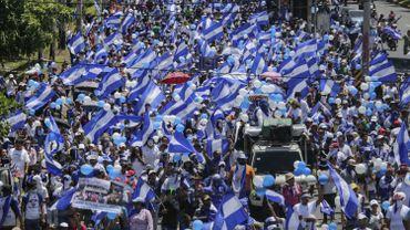 Des milliers d'opposants dans la rue au Nicaragua pour exiger le départ d'Ortega