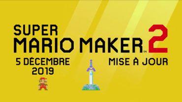 The Legend of Zelda s'invite dans la nouvelle mise à jour de Super Mario Maker 2