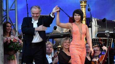 Concert Odeonsplatz avec Yuja Wang et Valery Gergiev