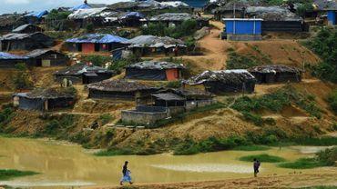 Le camp de réfugiés rohingyas de Kutapalong, au Bangladesh, le 7 octobre 2017