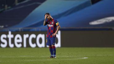Lionel Messi et le FC Barcelone ont pris 8 buts face au Bayern Munich en quart de finale de la Ligue des Champions.