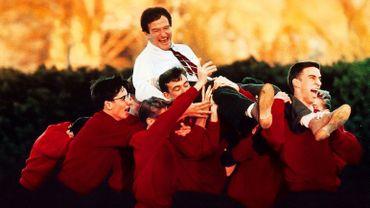 Affiche du film 'Le cercle des poètes disparus', avec Robin Williams