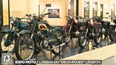 Expo Moto: l'essor du deux-roues liégeois