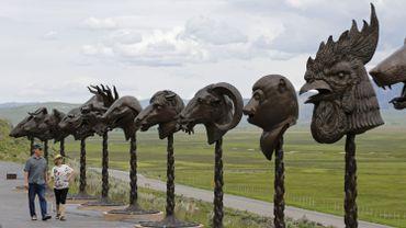 """Ai Weiwei, """"Circle of Animals/Zodiac Heads"""", 2010"""