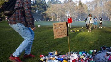 La Boum 1 a rassemblé plusieurs milliers de personnes au Bois de la Cambre le 1er avril dernier