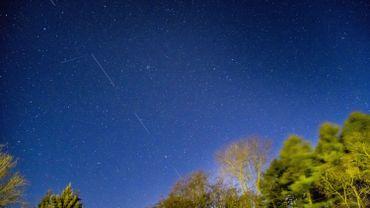 Les satellites Starlink au-dessus des Pays-Bas