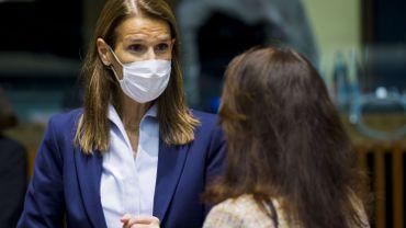 Coronavirus : Sophie Wilmès de retour au travail