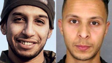 Un informateur avait fait état de plusieurs échanges directs entreAbdelhamid Abaaoud (à gauche) et Salah Abdeslam (à droite) dansles jours qui ont précédé l'opération de Verviers.