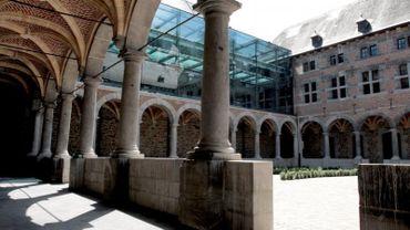 Cloître du Musée de la Vie wallonne à Liège