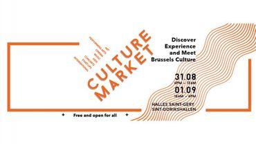 Culture Market #1 : la culture bruxelloise en fête
