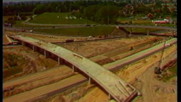 La fin du chantier de l'échangeur de Grand-Bigard, sur le ring.
