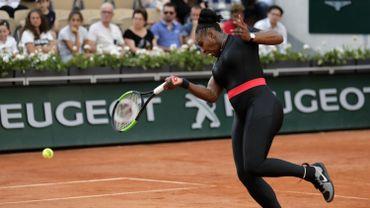 Serena Williams à Roland Garros, le 2 juin 2018.