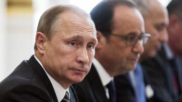 Le président Poutine n'avait pas joué de sonates au piano pour François Hollande
