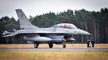 Lutte contre l'Etat islamique: 7000 heures de vol pour les F-16 belges