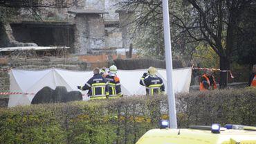 Accident d'hélicoptère à Huy: 2 morts, une cabine du téléphérique menace de tomber