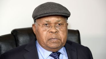 Etienne Tshisekedi le 10 juin à Genval