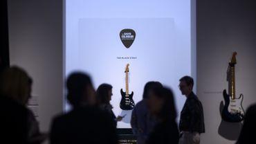 The David Gilmour Guitar Collection - avec la Black Strat vendue à près de 4 millions de dollars