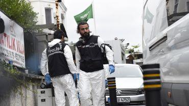 La police scientifique turque a commencé a fouiller la résidence du consul saoudien d'Istanbul